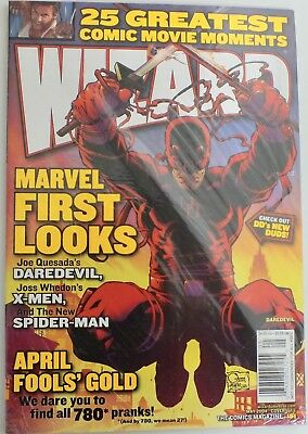 Wizard - The Comics Magazine - Issue 151 - Cover 1 - 2004 - new and sealed (458)