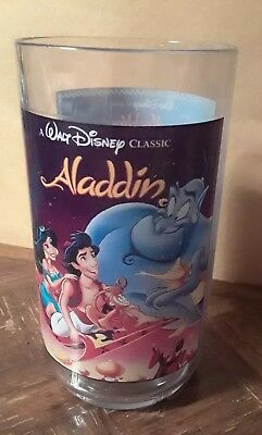 Burger King's 1994 Disney's Alladin Collectible Hard Plastic Cup