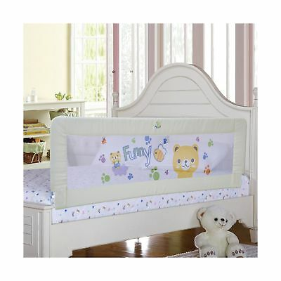 Baby Bed Rail Children Extra Long Guard Toddler Safety Fold Down Bedrail