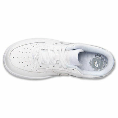 Nike Pre-School (PS) Kids Air Force 1 Low WhiteWhite Casual Walking 314193-117