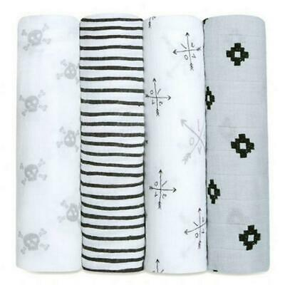 aden + anais Classic Swaddle, 4 Pack (Lovestruck) Free Shipping!