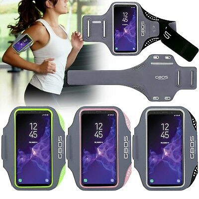 GBOS® Armband For Samsung Galaxy S9+ With Adjustable Sports Gym Jogging Exercise