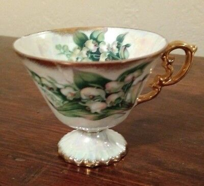 May Lily of The Valley Cup & Saucer Flowers