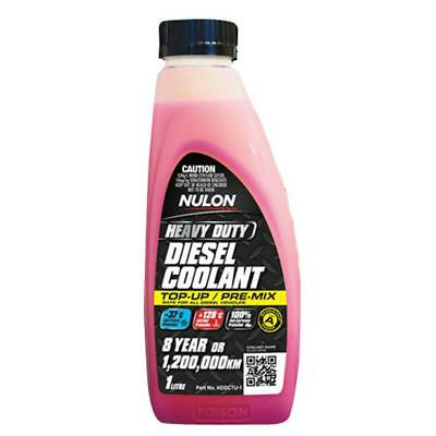 Nulon Heavy Duty Diesel Coolant Top-Up 1L HDDCTU-1 Free Shipping!