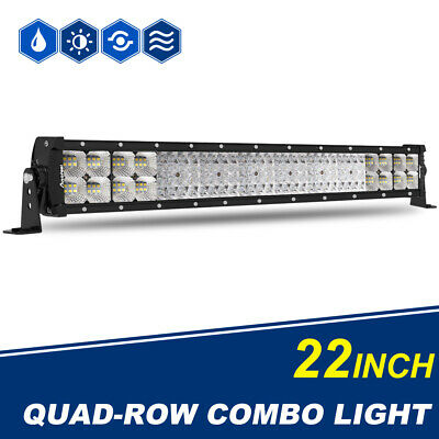 Autofeel 22Inch 2208W LED Light Bar Spot Flood Combo Offroad Driving SUV 4WD ATV