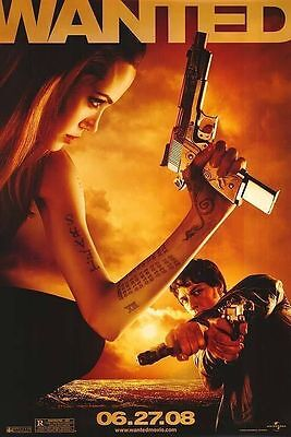Wanted Original Single-Sided Advance Rolled Movie Poster 27x40 NEW 2008