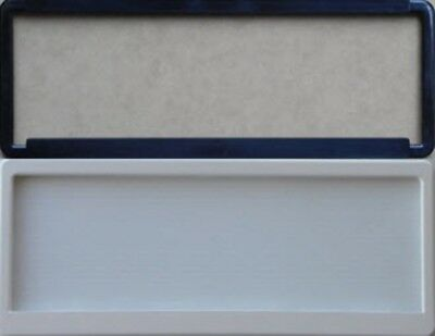 One Pair Of  (2) Slim Number Plate Surround Frame White or Black
