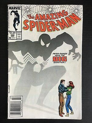 Marvel: Amazing Spider-Man (1963 1st Series) #290 VG  Peter proposes to MJ