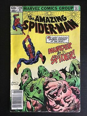 Marvel: Amazing Spider-Man (1963 1st Series) #228 GD Murder (key spidey auction)
