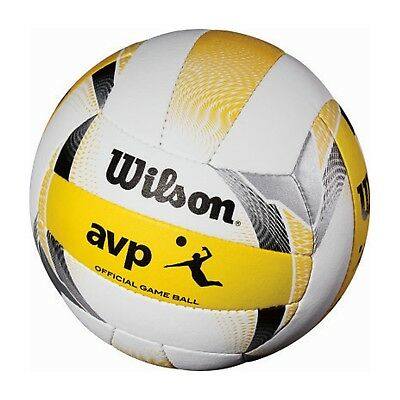 Wilson AVP Official Beach Game Volleyball Offers Premium Graphics