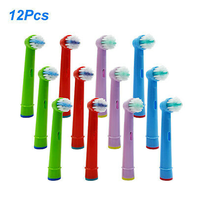 12pcs New Electric Tooth Brush Heads Replacement For Braun Oral B Kids EB-10A