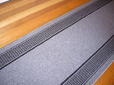 Hallway Runner Hall Runner Rug 360cm Long Modern Grey Black FREE DELIVERY