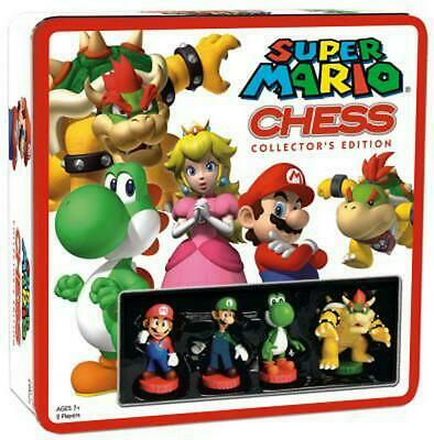 Chess Super Mario Board Game - USAopoly Free Shipping!