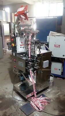 Tomato Sauce filling & sealing machine (Mechanical Type FFS)