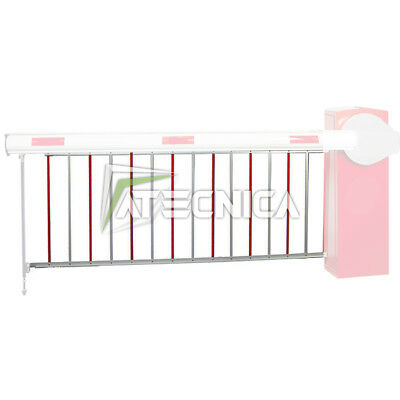 Hedge shoe rack aluminum for auction barrier BFT D573003 for MOOVI and GIOTTO