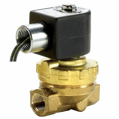"Parker 2-Way Normally Closed, 1/2"" NPT Steam Valve - NEW"