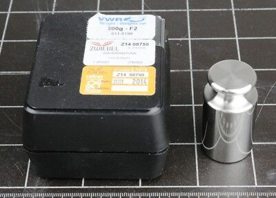 VWR Collection 200gram Calibration Weight, Class F2