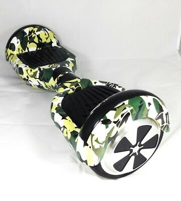 Hoverboard 6,5'' Smart Balance Verde Mimetico Overboard Scooter Bluetooth Led