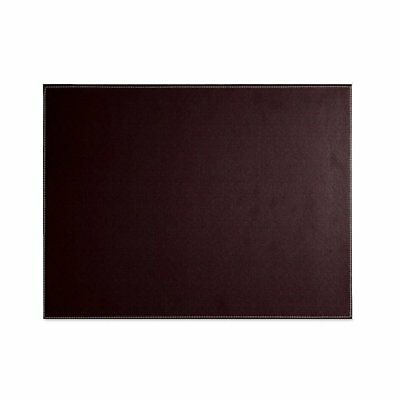Pu Leather Desk Mat - Executive Blotter And Protective & Protector Mouse Pad