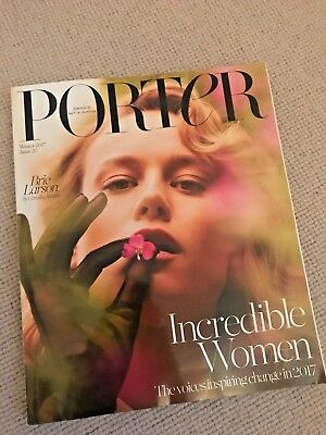 PORTER Magazine Winter 2017 Brie Larson Issue 23 NEW