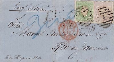 1874: Letter from Portugal to Brazil