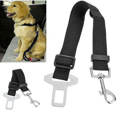 Car Safety Seat Belt Harness Restraint Lead Travel Clip For Pet Dog Cat FO