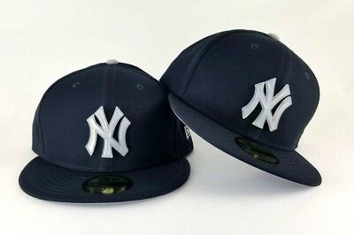5393536b28989 NEW ERA NEW York Yankees Clear Rubber Badge Navy Blue 59Fifty Fitted ...