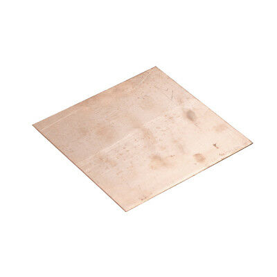 Hot Sale 99.9% Pure Copper Cu Metal Sheet Plate 100x100x1mm HICA