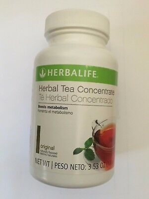HERBALIFE Herbal Tea Concentrate 3.53 oz Lemon Orignal Peach Raspberry Cinnamon