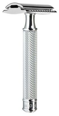 Muhle R89 Closed Comb Double Edge Safety Razor Chrome Plated Handle BNWB GIFT