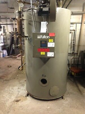 Fulton Fuel Fired Boiler FB-030-A