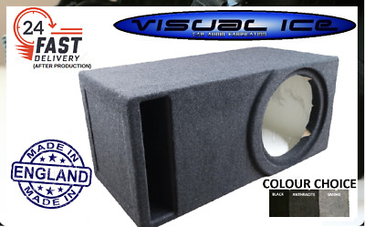 "Visual Ice Elite 15"" Optimum Mdf Slot Port Sub Box Subwoofer Enclosure Car Audio"