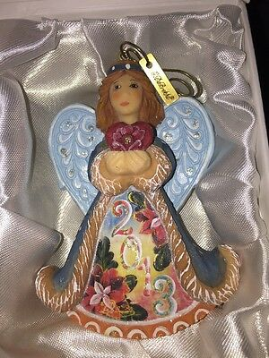G. DeBREKHT 2013 CELEBRATION ANGEL Ornament 662644 NEW