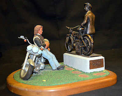 """Harley-Davidson  """"The Reunion"""" Sculpture , 99215-93z , Limited Edition Nr. 653"""