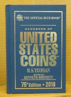Whitman - 2018 Blue Book - Hard Bound - New Copy                 Wh-Blueh18