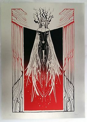 Malleus, STRIX - Silver version 50x70cm #/33 signed