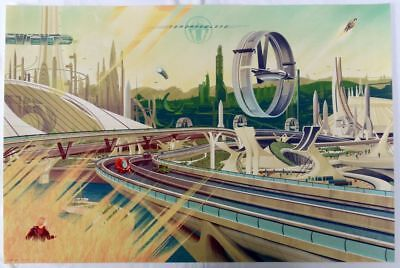 "Kevin Tong, Tomorrowland Regular 24""x36"" #/375"
