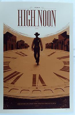 "Tom Whalen, High Noon, 24""x36"" #/175"