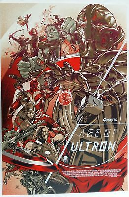 """Martin Ansin, Age of Ultron Variant 24""""x36"""" AP#/45"""
