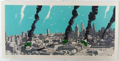 Raid71, Cultural Impact – London, Regular 40cm x 80cm #/75 signed