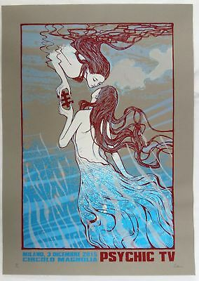 Malleus, PSYCHIC TV - regular edition 50x70cm #/110 signed