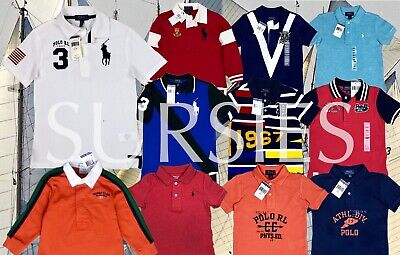 POLO RALPH LAUREN POLO SHIRT Boys Classic Polo & Rugby Shirt BIG PONY ALL SIZES