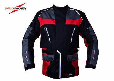 Pro-Rider Men Long  Waterproof CE Armoured MotorBike Jackets
