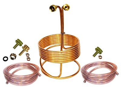 New Home Brew Stuff Copper Immersion Wort Chiller And Cooler Kit For Beer Brewin