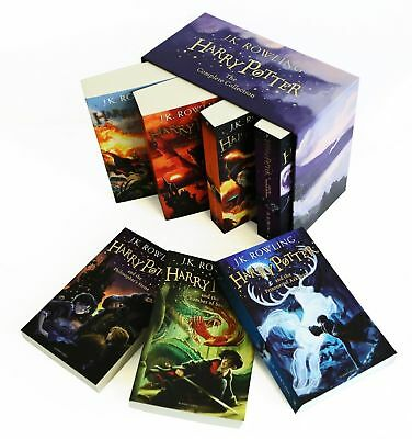 Harry Potter 7 Books Complete Collection Paperback Boxed Set
