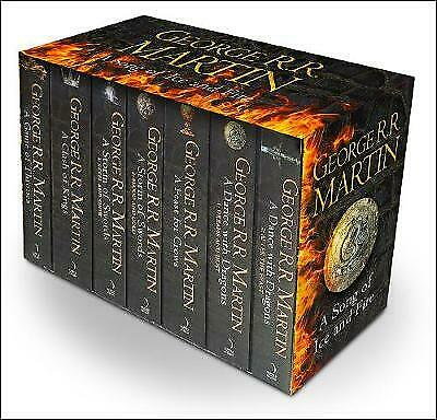 A Game of Thrones 7 Books Box Set Song of Ice and Fire by George R.R Martin