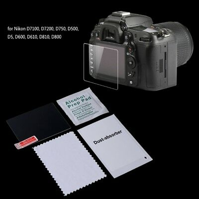 Screen Protector Tempered Glass Camera LCD Guard Cover Film For Nikon D7100 D750