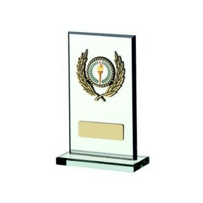 Jade Rectangle Award Multisport Trophy Swimming Hockey Archery - FREE Engraving