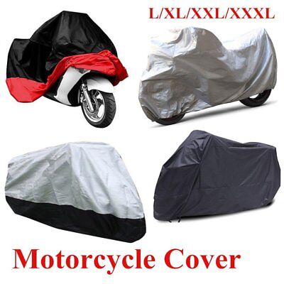Motorcycle Cover Waterproof Outdoor Motorbike Weather Protection(XL/2XL/3XL) MT