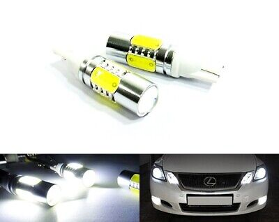 2x 501 T10 194 W5W SMD LED Light White 7.5W Side Indicator Sidelight DRL Reverse